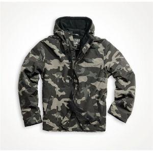 Outdoorová bunda SURPLUS Windbreaker Zipper - blackcamo (Farba: Black Camo, Veľkosť: M)