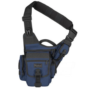 Brašna - taška MAXPEDITION® Fatboy ™ Versipack® - čiernomodrá (Farba: Modrá / čierna)