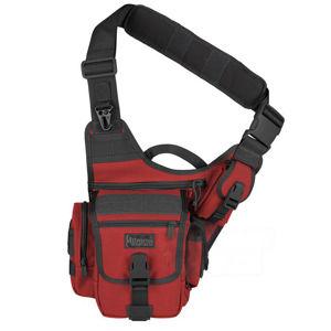 Brašna - taška MAXPEDITION® Fatboy ™ Versipack® - čiernočervená (Farba: Červená / čierna)