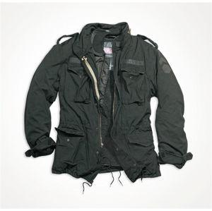 Bunda SURPLUS® M65 Regiment - čierna (Farba: Čierna, Veľkosť: S)