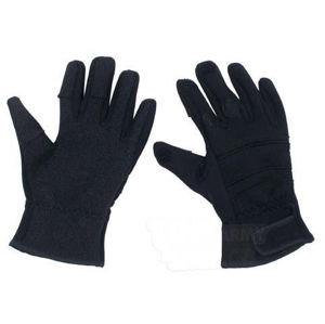 Neoprénové taktické - security rukavice MFH® Combat - čierne (Veľkosť: L)