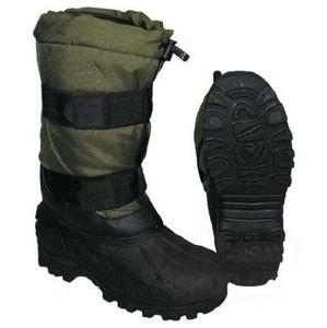 Termo topánky zimné Fox 40 - 40 ° C FOX OUTDOOR® - zelené / olív (Farba: Olive Green , Veľkosť: 45)