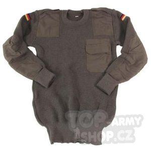 Vojenský sveter originál Bundeswehr použitý (Veľkosť: 50)