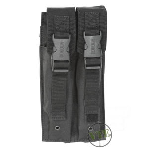 Dvojité puzdro MP5 Mag Pouch Voodoo Tactical - čierne
