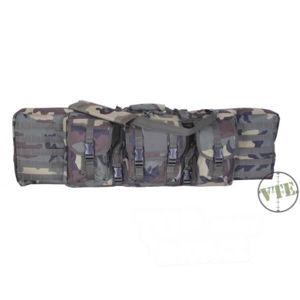 Puzdro na 4 zbraně 46 Padded Voodoo Tactical - woodland (Farba: US woodland)