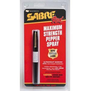 Obranný sprej SABRE RED pero