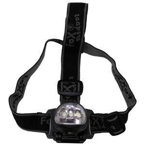 Čelové - cyklistické LED svietidlo vyklápacie + dynamo FOX OUTDOOR® - čierne