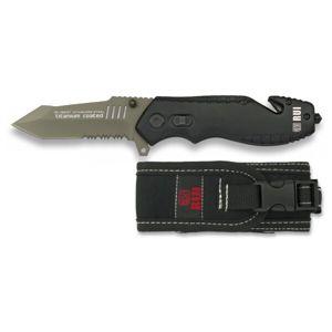Zatvárací nôž záchranársky RUI® 19537 - čierny
