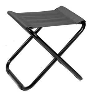 Skladacia stolička   CAMPING Mil-Tec® - čierna (Farba: Čierna)