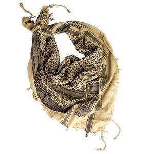 Šatka Palestín so strapcami Mil-Tec® - čierno-pieskový (Farba: Čierna / khaki)