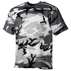 Bavlnené tričko klasického štýlu US army MFH® s krátkym rukávom - urban (Farba: Urban, Veľkosť: XL)