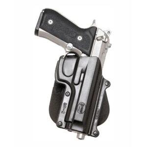 Pistolové pouzdro FOBUS® BR-2 LH EX stehenní s pádlem na pistoli Beretta, Feg nebo Taurus - pro leváky