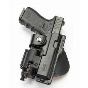 Pistolové pouzdro FOBUS® EM17 LS BHP opaskové pro služební opasek na pistoli Beretta, H&K, Sig/Sauer nebo Taurus