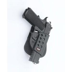 Pistolové pouzdro FOBUS® KMSP EX stehenní s pádlem na pistoli Colt, Kimber nebo Springfield