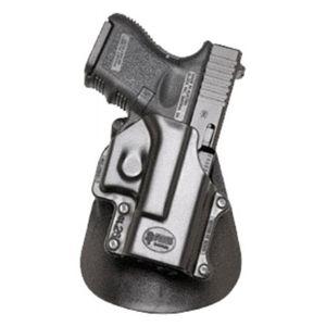 Pistolové pouzdro FOBUS® GL-26 LH A kotníkové s pádlem na pistoli Glock - pro leváky