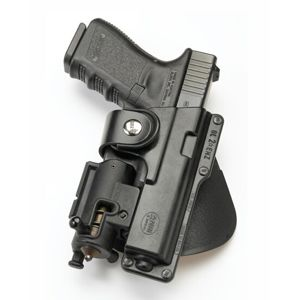 Pistolové pouzdro FOBUS® EM19 P s pádlem na pistoli Glock nebo Walther