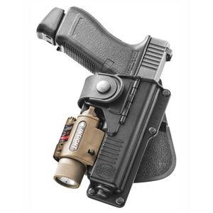 Pistolové pouzdro FOBUS® RBT17G BHP opaskové pro služební opasek na pistoli Glock