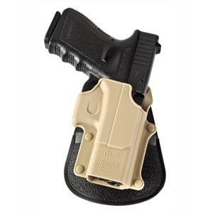 Pistolové pouzdro FOBUS® GL-2K BH opaskové na pistoli Glock - desert khaki