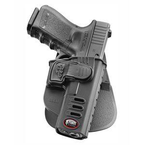 Pistolové pouzdro FOBUS® GLCH BHP opaskové pro služební opasek na pistoli Glock