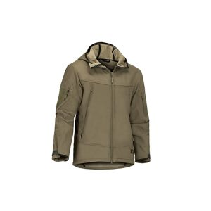 Softshellová bunda CLAWGEAR® Harpagus - RAL7013 (Farba: RAL7013, Veľkosť: XXL)