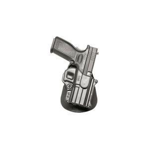 Pistolové pouzdro FOBUS® SP-11 A kotníkové s pádlem na pistoli Bul, HS 2000, IWI Israel, Ruger, Springfield nebo Taurus