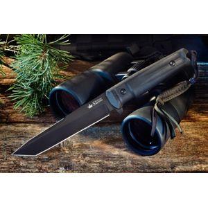 Nôž s pevnou čepeľou Kizlyar SUPREME® Aggressor AUS 8 - čierny Titanium (Farba: Čierna, Varianta: černá čepel – Titanium Coating)