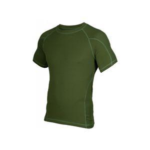 Tričko STOOR® Combat MOD s krátkym rukávom - zelené (Veľkosť: M)