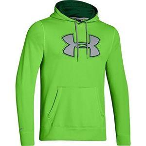 Mikina s kapucňou UNDER ARMOUR® ColdGear® - zelená (Farba: Zelená, Veľkosť: L)