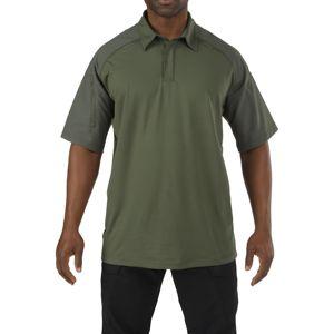 Polokošile 5.11 Tactical® Rapid Performace Polo - zelená (Farba: Zelená, Veľkosť: L)