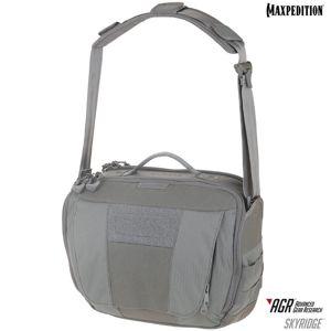 Brašna na rameno MAXPEDITION® AGR™  Skyridge - sivá (Farba: Sivá)