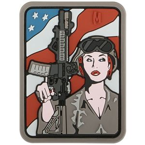 Patches MAXPEDITION® Soldier Girl - arid (Farba: Hnedá)