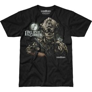 Pánske tričko 7.62 Design® Aj Believe In Ghosts - čierne (Veľkosť: M)