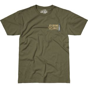 Pánske tričko 7.62 Design® Sniper Team - zelené (Veľkosť: XL)