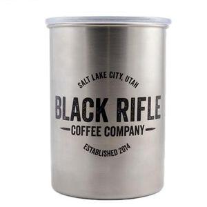 Plechovka - box na kávu BRCC® nerezový, vzduchotesný