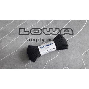 Šnúrky Lowa® 170 cm - čierne (Farba: Čierna, Varianta: 170 cm)