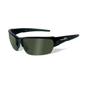 Strelecké okuliare Wiley X® Saint - čierny rámček, dymovo zelené šošovky polarizované (Farba: Čierna, Šošovky: Dymovo zelené polarizované)