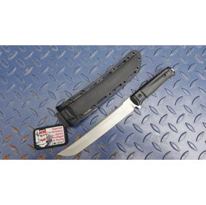 Nôž s pevnou čepeľou Kizlyar SUPREME® Sensei D2 - čierny DSW (Farba: Čierna, Varianta: šedá čepel – Stone Wash)