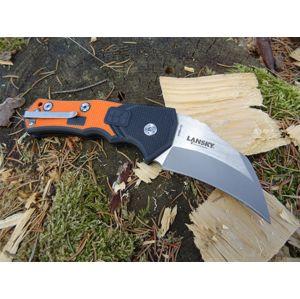 Zatvárací nôž Lansky® Madrock World Legal Knife - oranžový