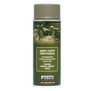 Barva ARMY ve spreji 400 ml FOSCO® - Indian Green WWII (Farba: Indian Green WWII)