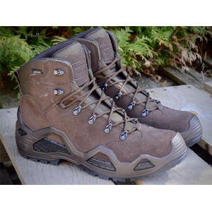 Topánky LOWA® Z-6S GTX® - Sage Green (Farba: Dark Brown, Veľkosť: 46 (EU))