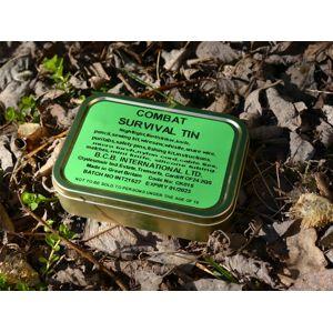 Krabička poslednej záchrany BCB® Combat Survival Tin