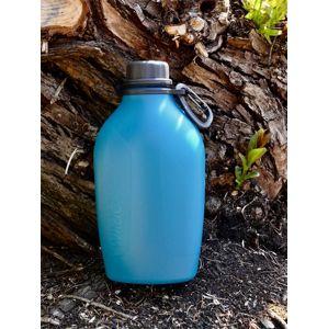 Poľná fľaša Explorer 1 liter Wildo® – Modrá (Farba: Modrá)