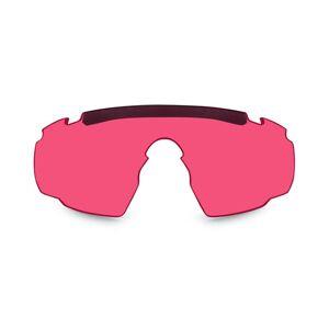 Náhradné sklo pre okuliare Saber AD Wiley X® - Vermillion (Farba: Ružová)