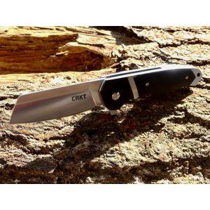 Zatvárací nôž Ripsnort™ CRKT® - čierny