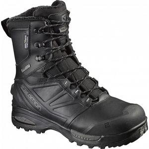 Topánky Salomon® Toundra Forces CSWP - čierne (Veľkosť: 10,5)