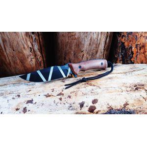 Nôž s pevnou čepeľou ANV® M311 Spelter – Coyote, camo čepeľ - DLC + Kydex® puzdro (Farba: Coyote, Varianta: camo čepeľ - DLC + Kydex® puzdro)