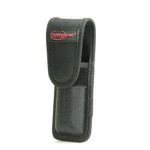Nylonové puzdro Warrior PowerTac® – Čierna (Farba: Čierna)