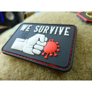 Nášivka We Survive Pinch The Virus JTG® – Swat (Farba: Swat)