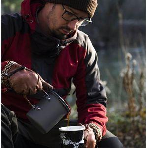Hrnček French Press Coffee 600 ml Helikon-Tex® (Farba: Sivá)