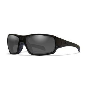 Slnečné športové okuliare Breach Wiley X® (Farba: Čierna, Šošovky: Dymovo sivé)